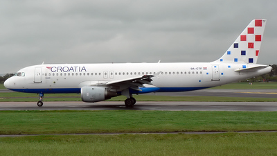 9A-CTF - Airbus A320-212 - Croatia Airlines