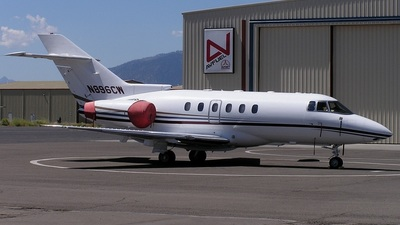 N896CW - Raytheon Hawker 800XP - Private