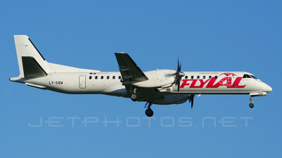 LY-SBW - Saab 2000 - flyLAL - Lithuanian Airlines