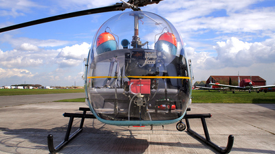 A picture of GAXKX - Bell 47G4A - [WA728] - © Dave Marshall