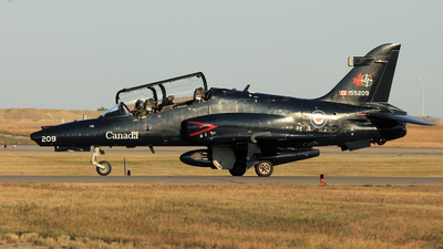 155209 - British Aerospace CT-155 Hawk - Canada - Royal Canadian Air Force (RCAF)