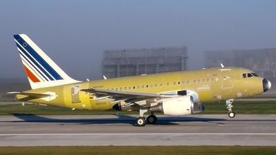 D-AUAF - Airbus A318-111 - Airbus Industrie
