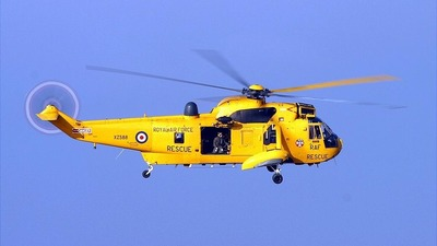 XZ588 - Westland Sea King HAR.3 - United Kingdom - Royal Air Force (RAF)