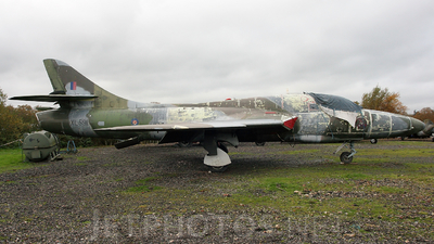 XL591 - Hawker Hunter T.7 - United Kingdom - Royal Air Force (RAF)
