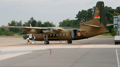 G521 - Fokker F27-400M Troopship - Ghana - Air Force