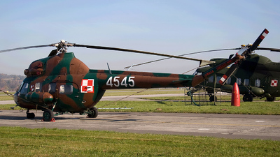 4545 - PZL-Swidnik Mi-2RL Hoplite - Poland - Air Force