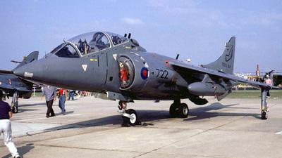 ZB604 - Hawker Siddeley Harrier T.4N - United Kingdom - Royal Navy