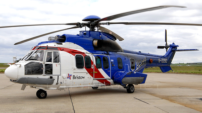 A picture of GZZSC - Airbus Helicopters H225 - Bristow Helicopters - © Duncan McDonald