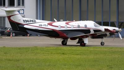 A picture of HBFSJ - Pilatus PC12/47E -  - © Kurt Greul