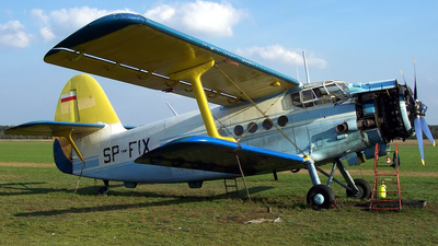 SP-FIX - PZL-Mielec An-2 - Aero Club - Poznanski