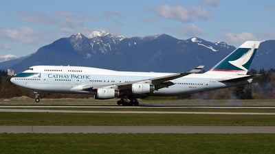 B-HUA - Boeing 747-467 - Cathay Pacific Airways