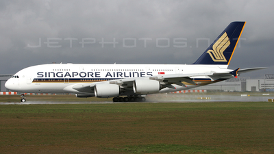 F-WWSE - Airbus A380-841 - Singapore Airlines