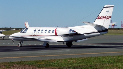 N438SP - Cessna 550 Citation II - Private