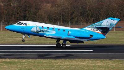 A picture of N345FJ - Dassault Falcon 2000EX - [345] - © scott wright