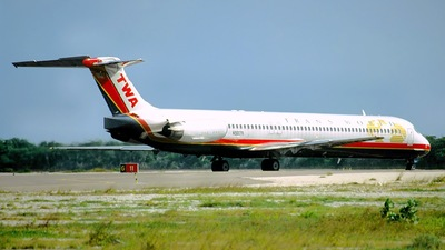 N9617R - McDonnell Douglas MD-83 - Trans World Airlines (TWA)