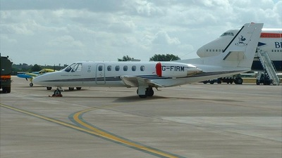G-FIRM - Cessna 550B Citation Bravo - Private