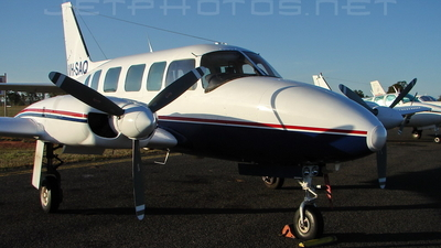VH-SAQ - Piper PA-31-350 Navajo Chieftain - Central Highlands Air Transport