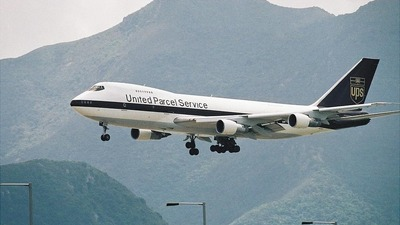 N525UP - Boeing 747-212B(SF) - United Parcel Service (UPS)