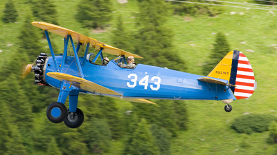 A picture of N921WS - BoeingStearman Model 75 - [755165] - © Danijel Jovanovic - AirTeamImages