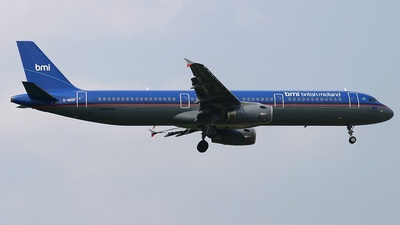 G-MIDF - Airbus A321-211 - bmi British Midland International