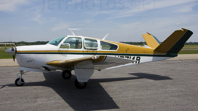 A picture of N7714R - Beech V35A Bonanza - [D8956] - © Andrew Thompson