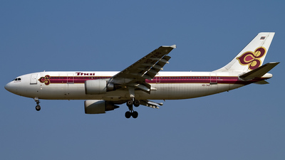 HS-TAB - Airbus A300B4-601 - Thai Airways International