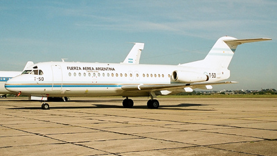 T-50 - Fokker F28-4000 Fellowship - Argentina - Air Force