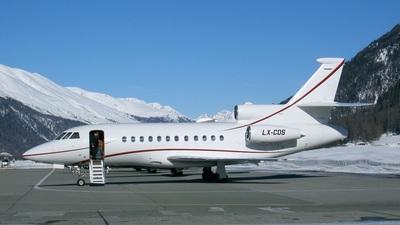 LX-COS - Dassault Falcon 900 - Private