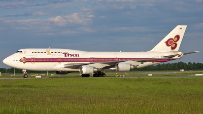HS-TGG - Boeing 747-4D7 - Thai Airways International