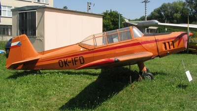 OK-IFD - Zlin Z-126 Trenér 2 - Private