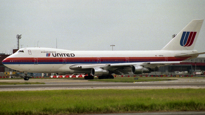 N161UA - Boeing 747-238B - United Airlines