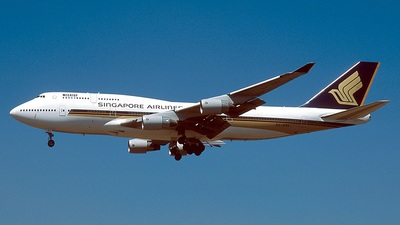 9V-SMH - Boeing 747-412 - Singapore Airlines