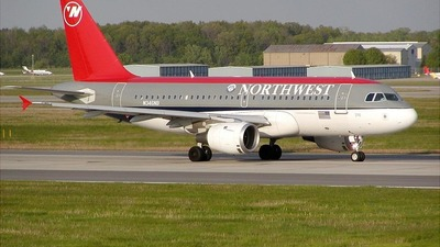 N346NB - Airbus A319-114 - Northwest Airlines