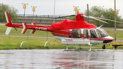 A picture of CFTHD - Bell 407 - [53134] - © Mike Head - Jet Wash Photos