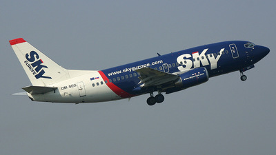 OM-SEG - Boeing 737-5Y0 - SkyEurope Airlines