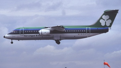 EI-CLG - British Aerospace BAe 146-300 - Aer Lingus Commuter