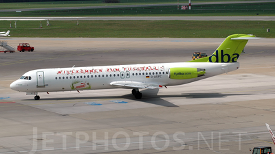 D-AGPC - Fokker 100 - dba (Germania)