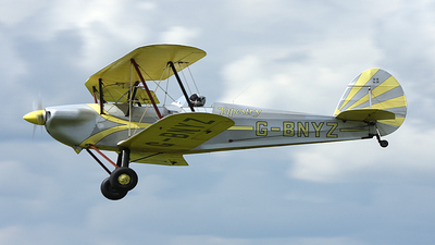 A picture of GBNYZ - Stampe SV4C - [200] - © Paul Chandler