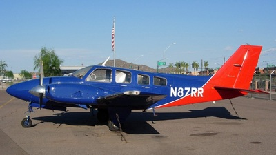 A picture of N87RR - Beech 58P Pressurized Baron - [TJ34] - © Sun Valley Aviation