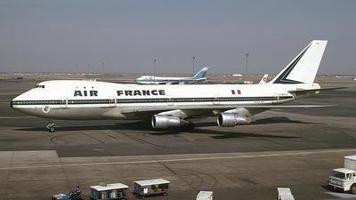 F-BPVB - Boeing 747-128 - Air France