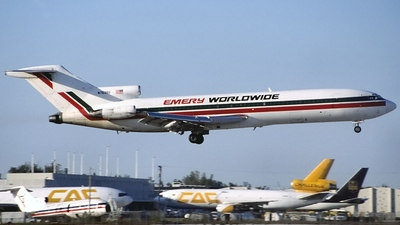 N7638U - Boeing 727-222(F) - Emery Worldwide