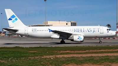 SX-BVK - Airbus A320-212 - Hellas Jet