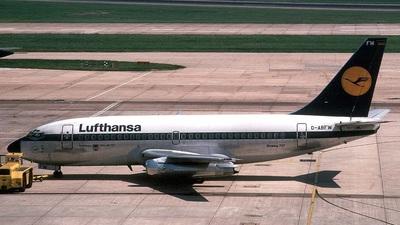 D-ABFW - Boeing 737-230(Adv) - Lufthansa