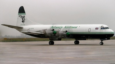 G-LOFD - Lockheed L-188A(F) Electra - Atlantic Airlines