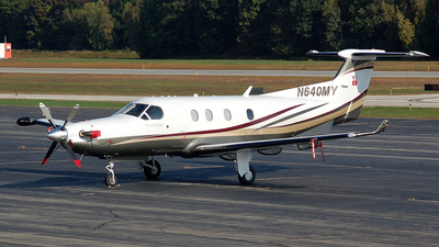 A picture of N640MY - Pilatus PC12/45 - [640] - © Nick Michaud