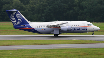 OO-DJX - British Aerospace Avro RJ85 - Brussels Airlines