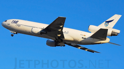 CP-2489 - McDonnell Douglas DC-10-10(F) - TAB - Transportes Aéreos Bolivianos