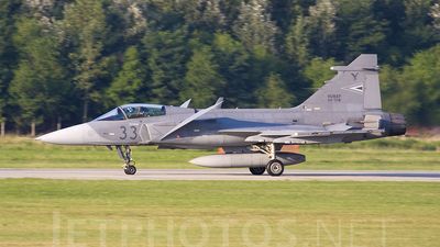 33 - Saab JAS-39C Gripen - Hungary - Air Force