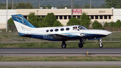 N4701A - Cessna 414A Chancellor - Private