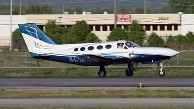 A picture of N4701A - Cessna 414A Chancellor - [414A0085] - © Bruce Leibowitz